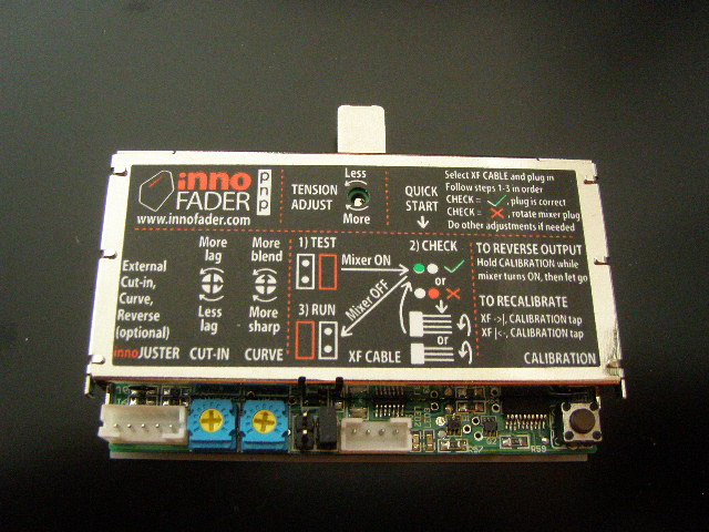 AUDIO INNOVATE INNOFADER PNP CROSSFADER